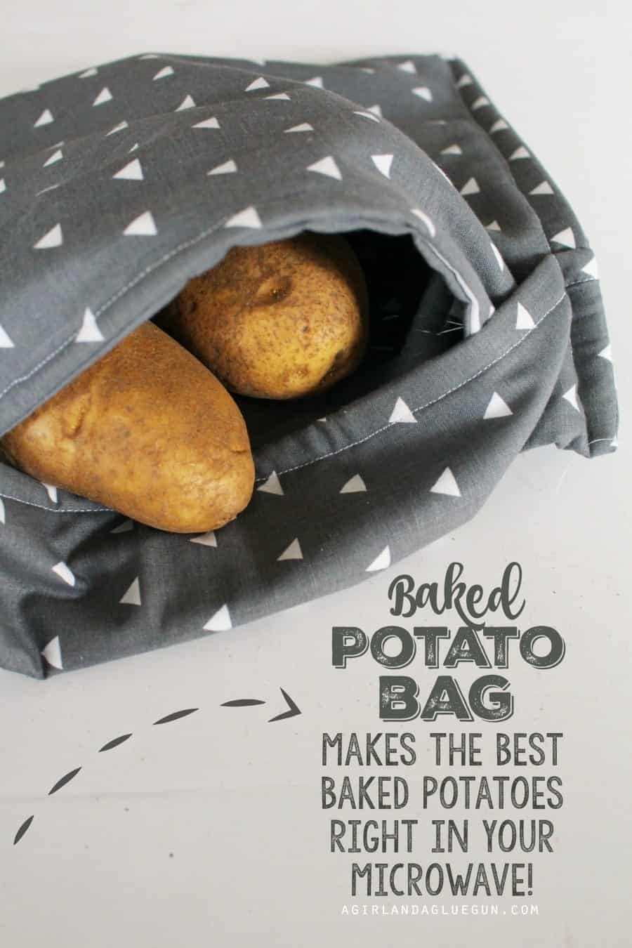 Baked Potato Bag Make The Softest And Yummiest Potatoes Right In Your Microwave Dsc00071