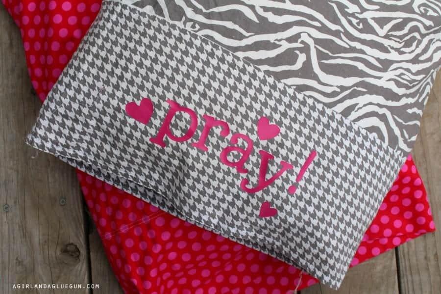 prayer pillowcase