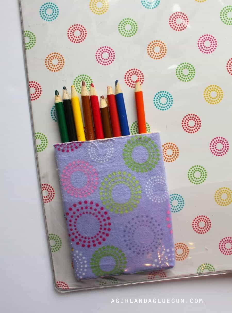 colored pencil holder