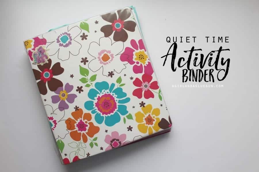 easy kids activity binder diy