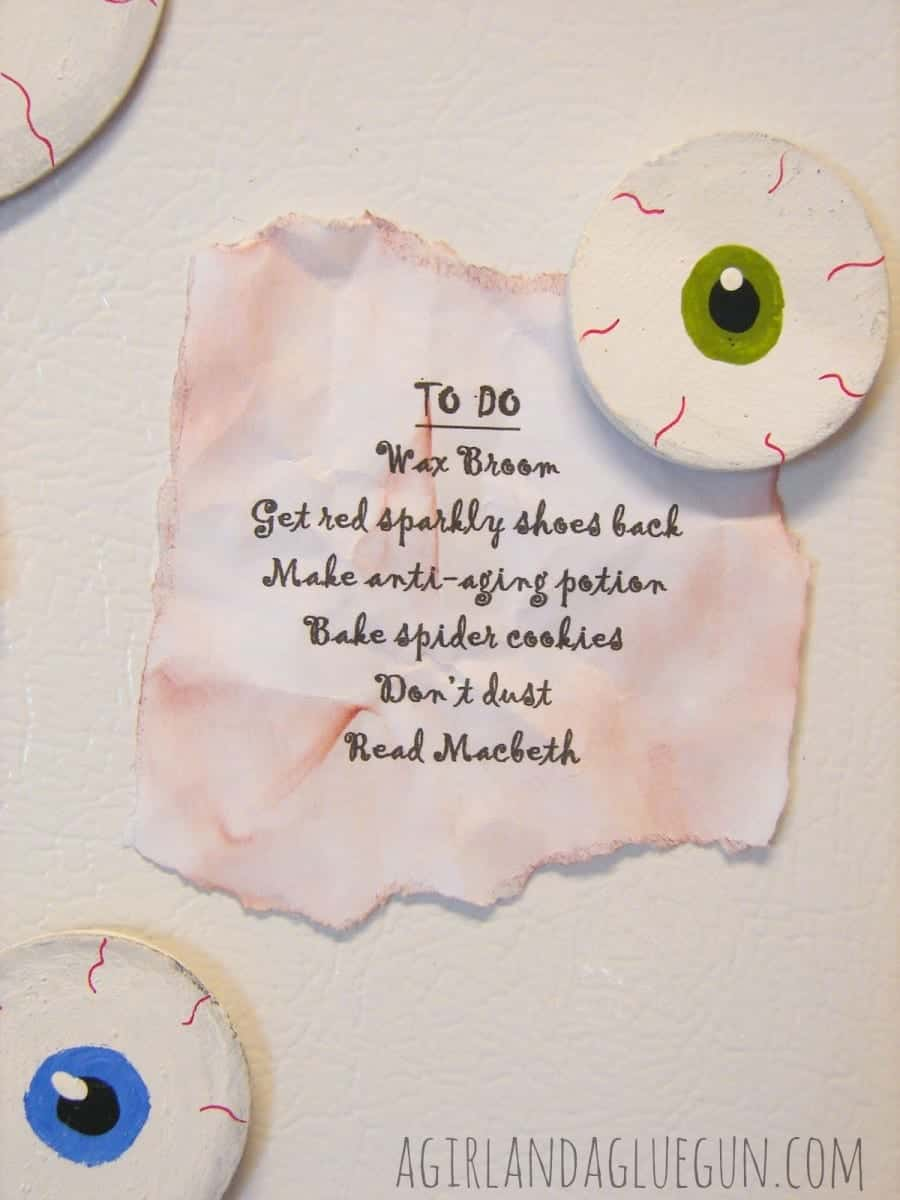 eyeball magnets for halloween
