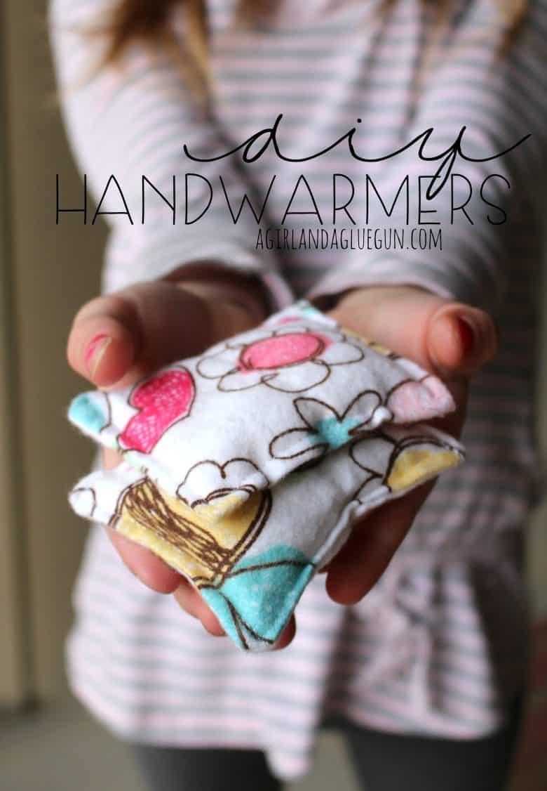 handwarmers!!! - A girl and a glue gun