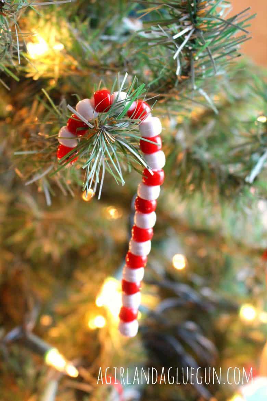 easy christmas craft a girl and a glue gun