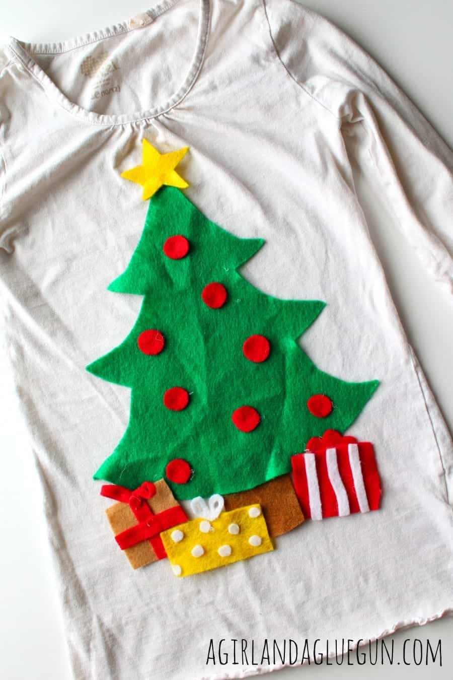 interchangeable Christmas shirt
