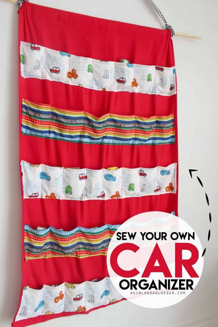 sew your own car organizer