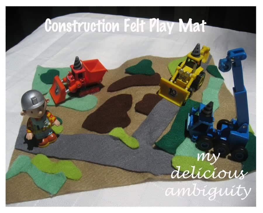 construction felt play mat