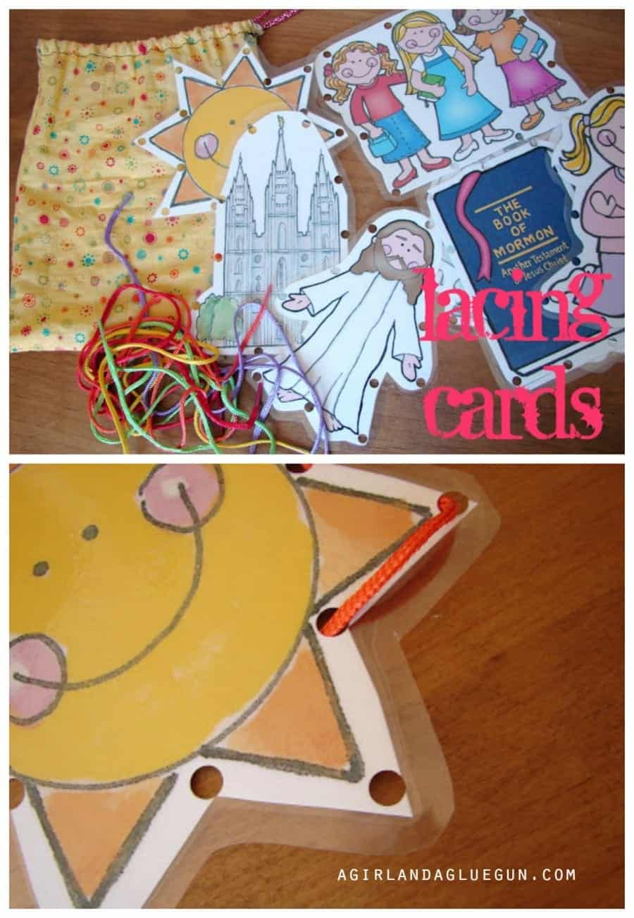 easy lacing cards