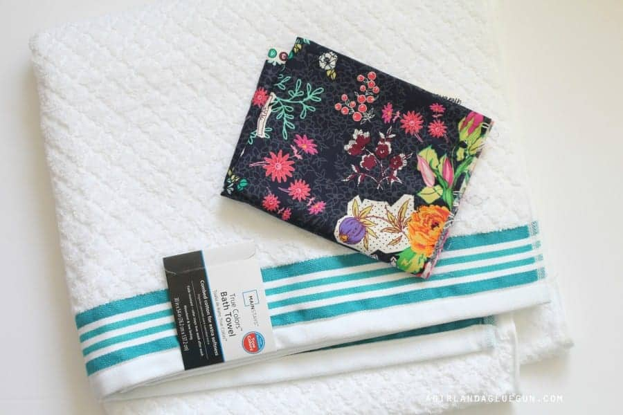 fabric with towel