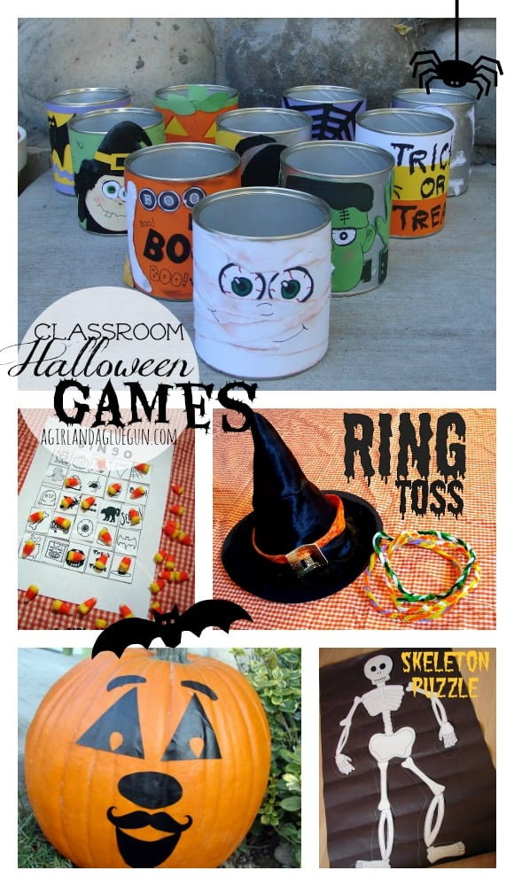 halloween games for classroom parties!