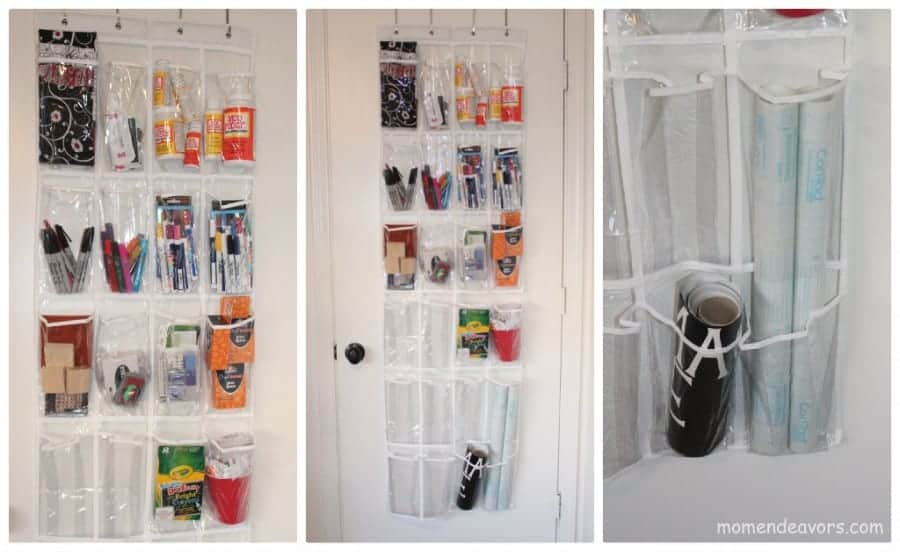 Over-the-Door-Craft-Storage & organization shout outs!!!! - A girl and a glue gun