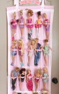 barbie organizer