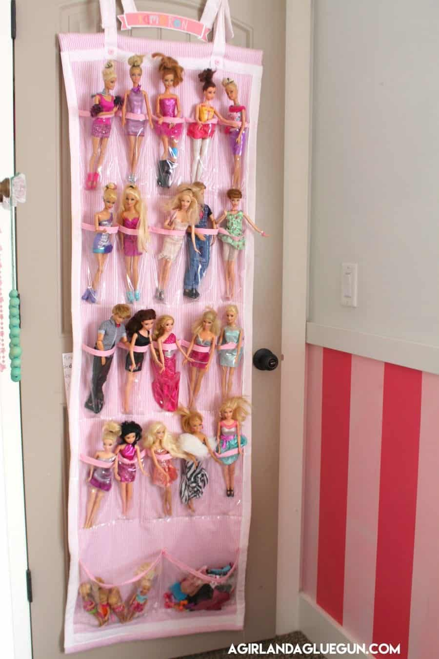 barbie organizer