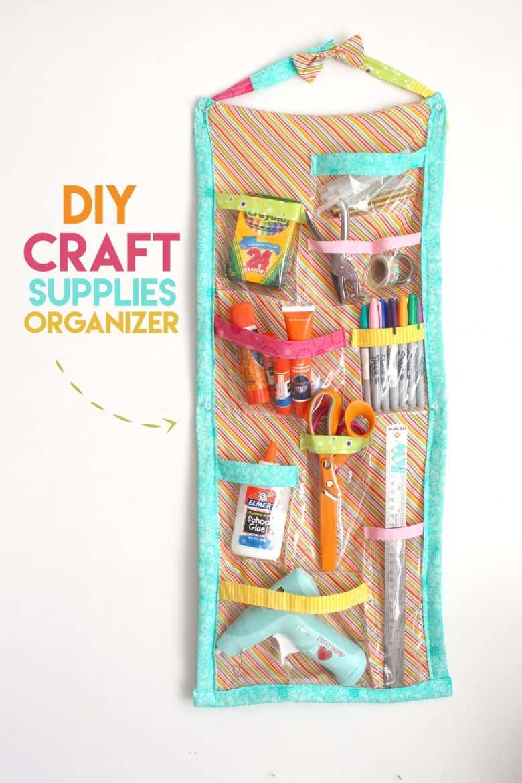 Craft Organizer A Girl And A Glue Gun
