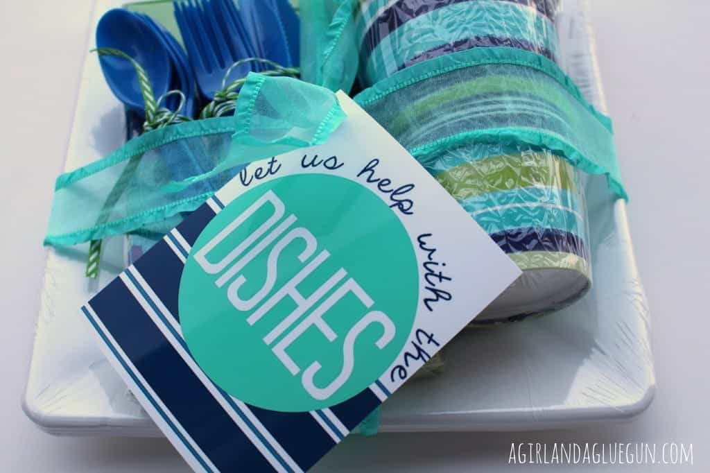dishes free printable for mother's day