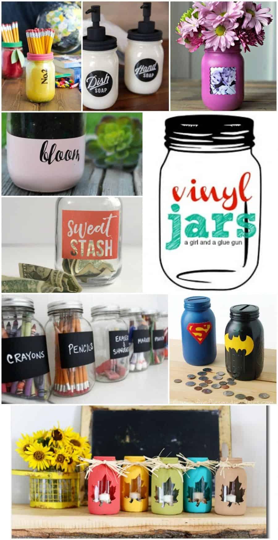 vinyl jars