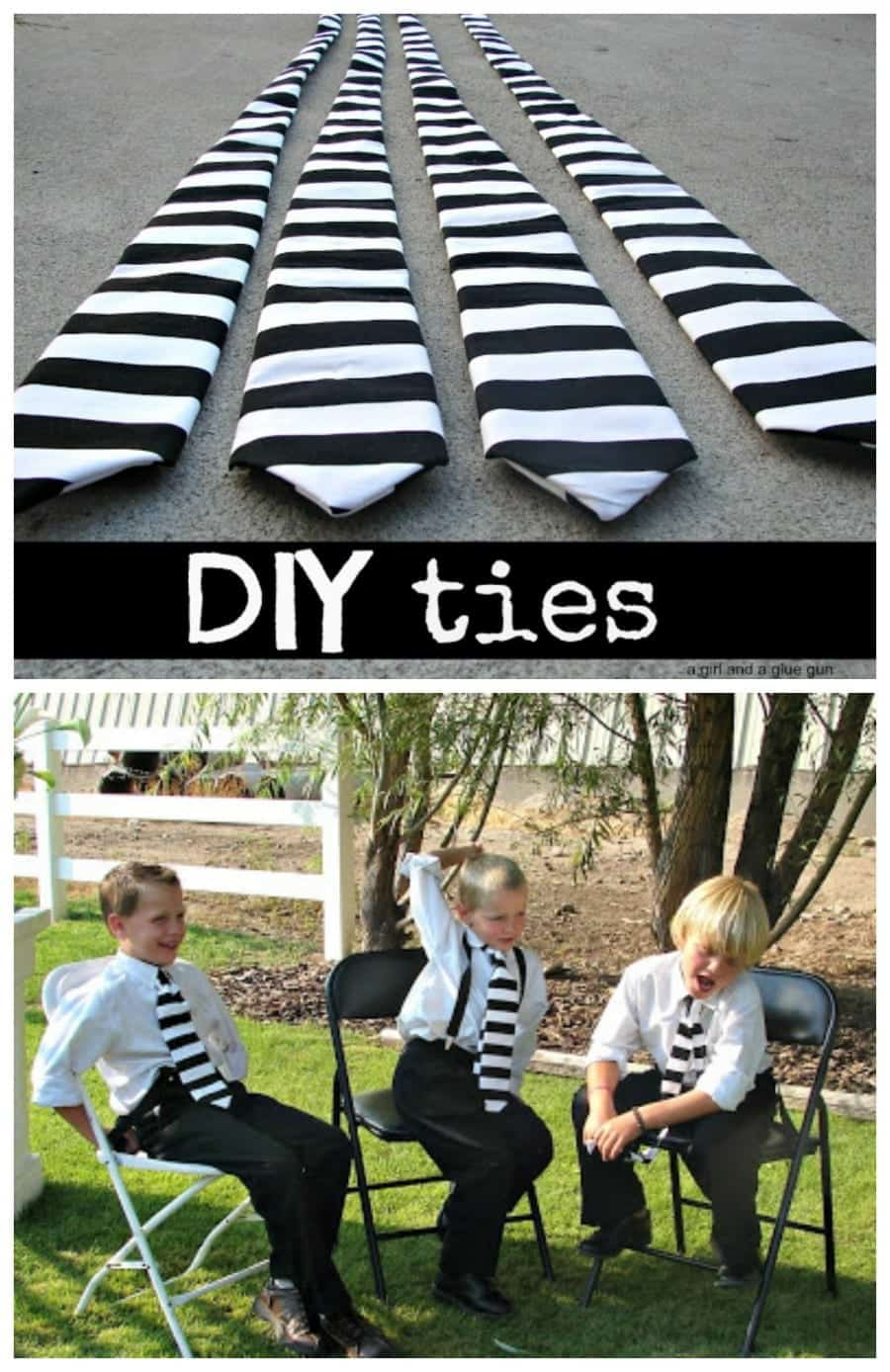 learn to sew your own ties