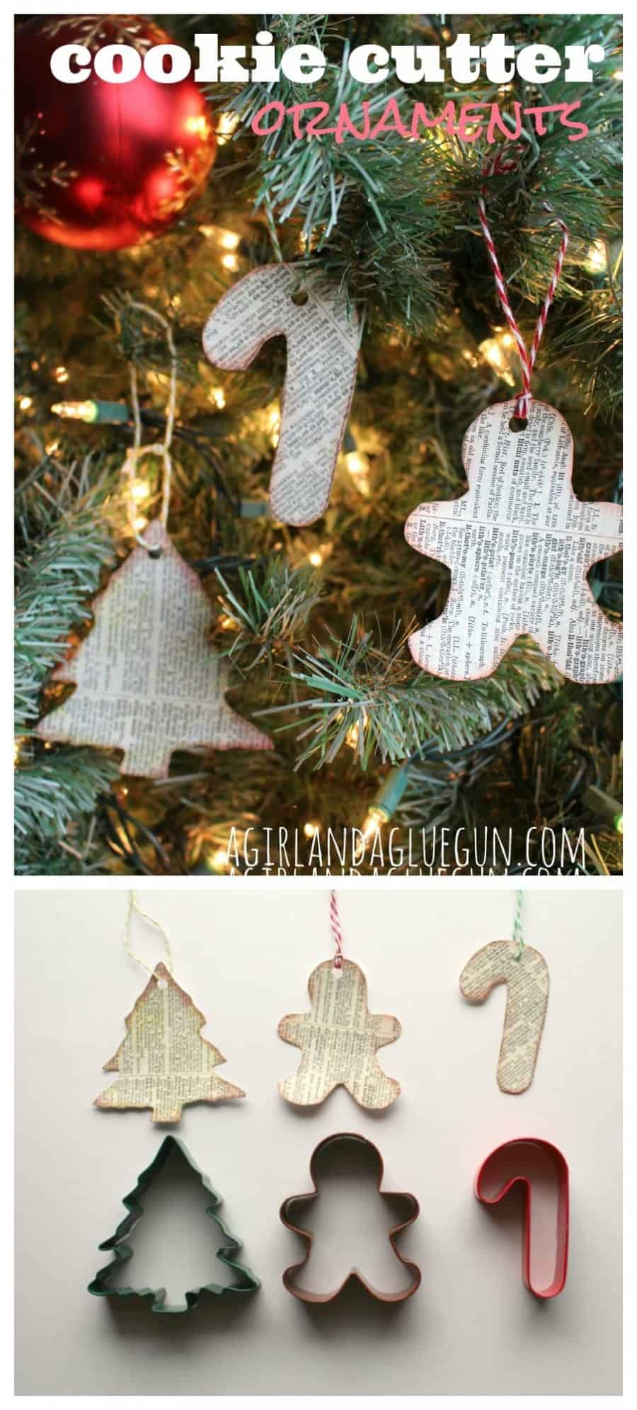 cookie cutter ornaments --easy kids crafts!
