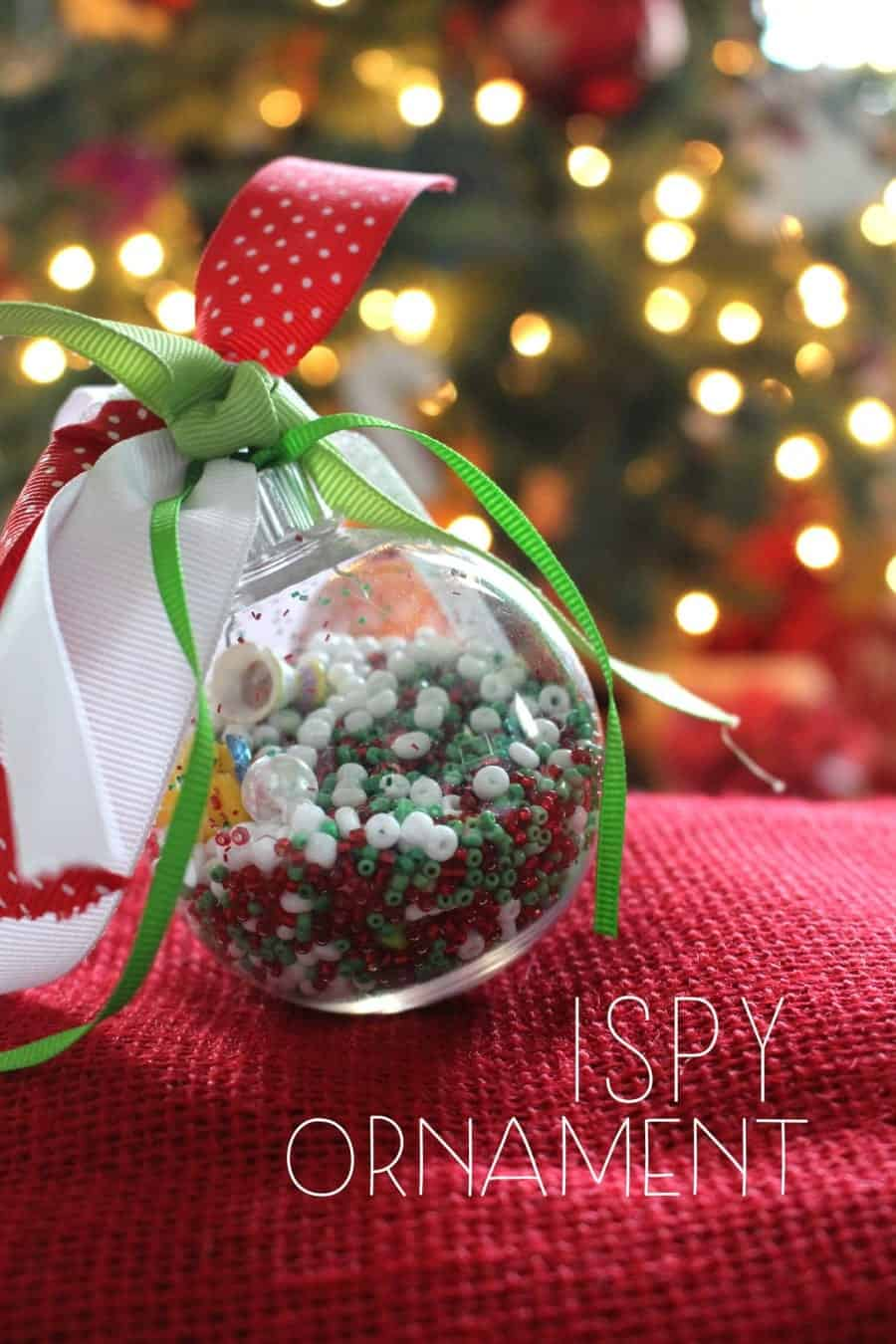 diy ispy ornament