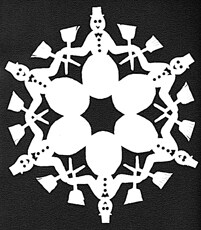 Snowflake-Paper-Craft-pattern