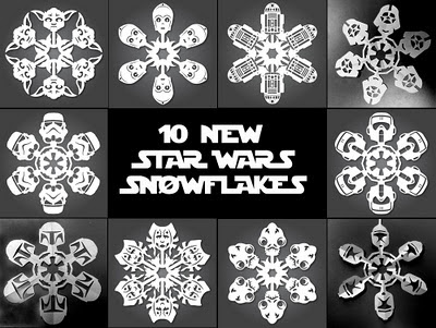 Star Wars Snowflakes Hero iihih