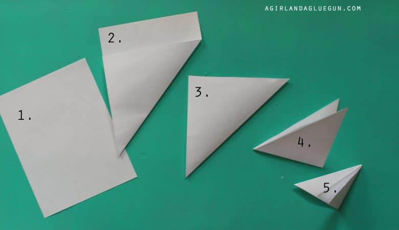 folding paper for snowflakes How to: your step by step photo guide (by me) 6 sides paper snowflakes are, in my opinion, the mercedes of paper snowflakes they are so easy once you know the trick to folding them.