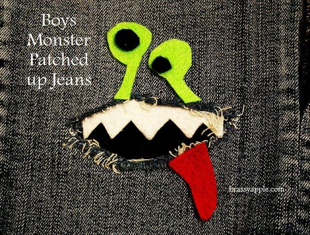 patch up boys jeans