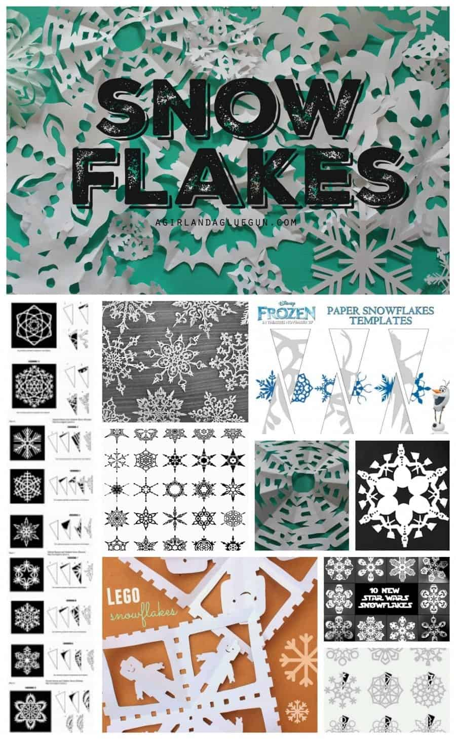snow flake patterns and how to