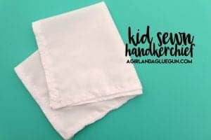 hanky panky (kid craft monday) diy handkerchief