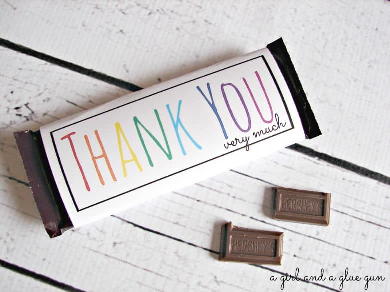 free printable chocolate bar wrappers