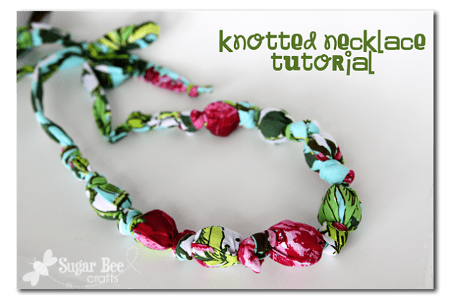 knotted necklace tutorial how to 2