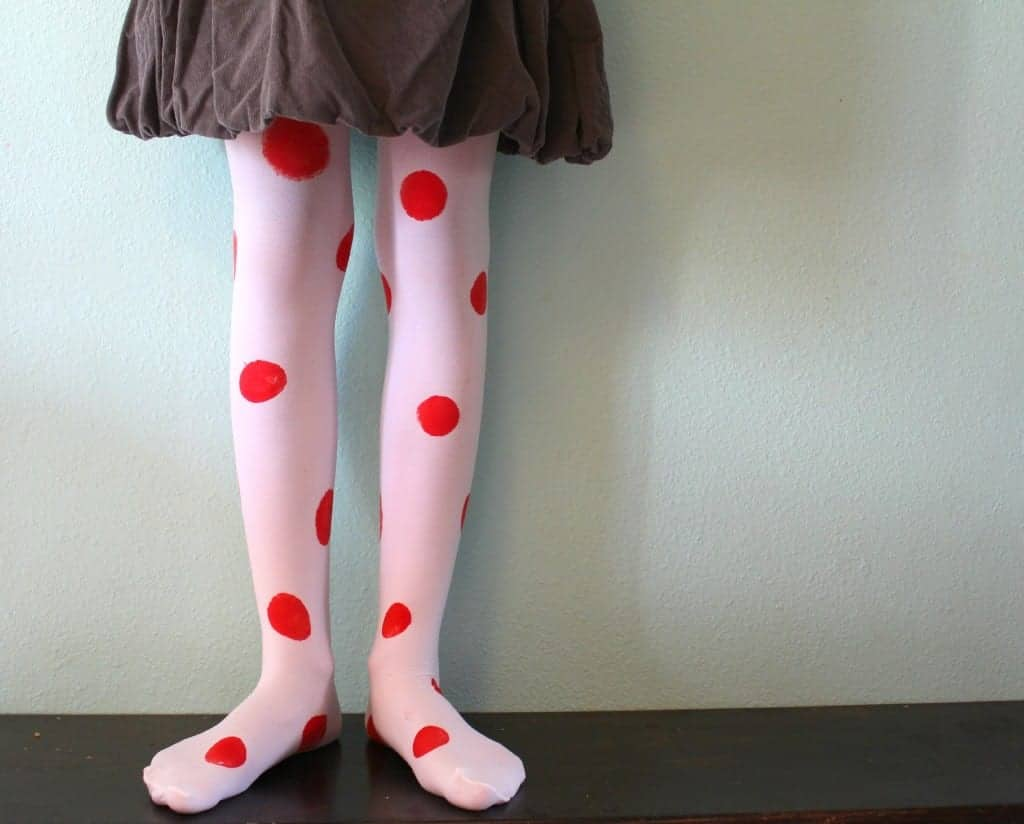 polka dot tights 2