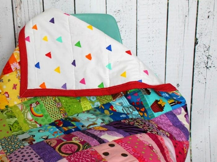 what to do with leftover scrap fabric