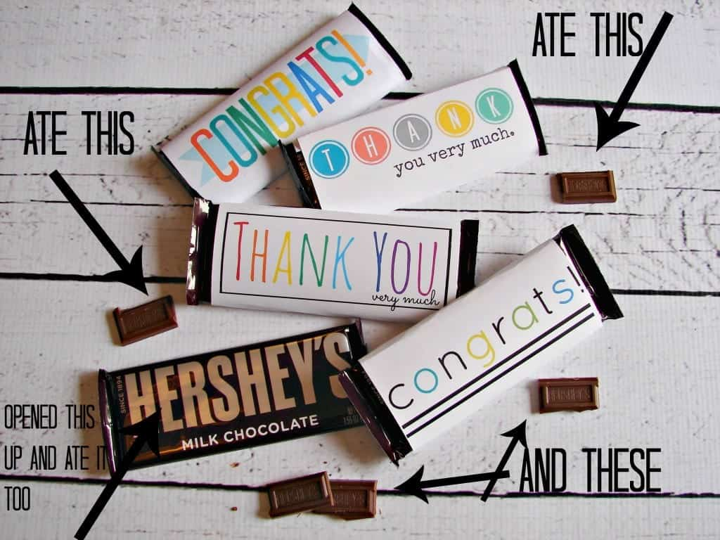 yummy candy bar