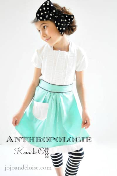 Anthropologie-Apron-knock-off-teal-white-ruffles