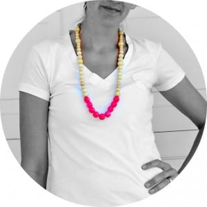 neon..it's so hot right now–necklace week!