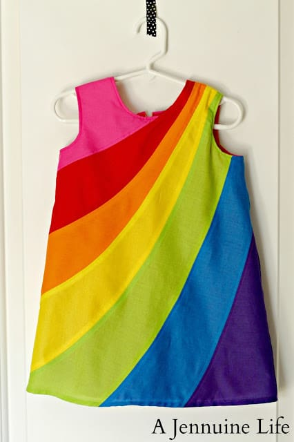 Rainbow Dress Hanging 1