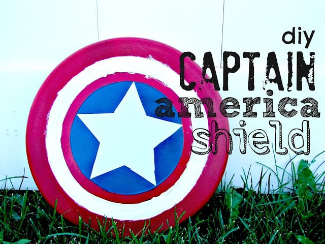 captain america shield diy