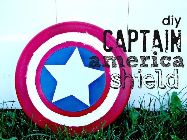captain america shield diy