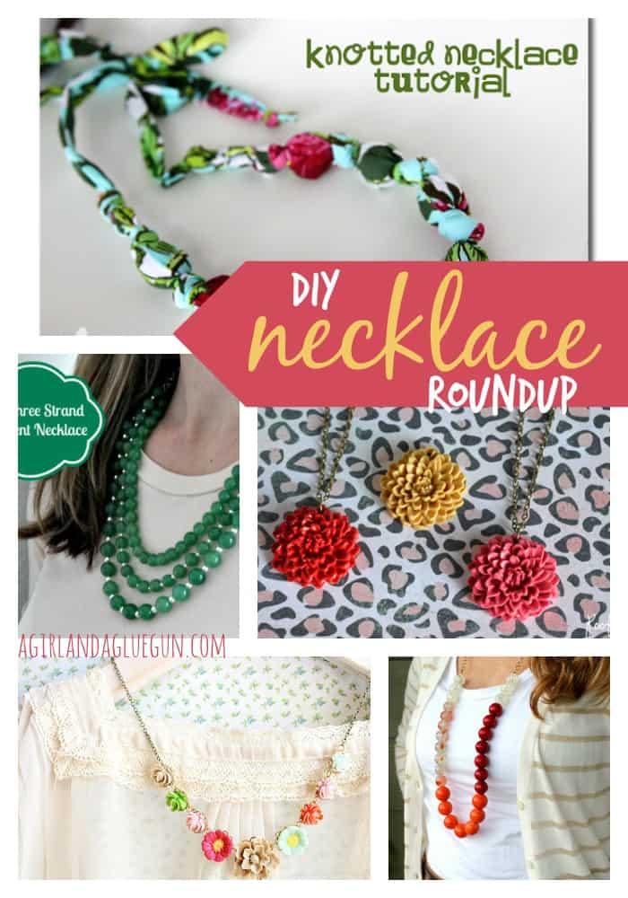 diy necklace roundup