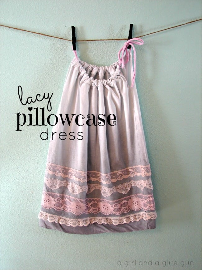 lacy pillowcase dress