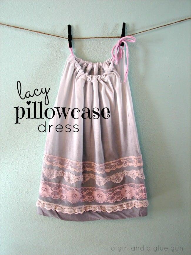lacy pillowcase dress