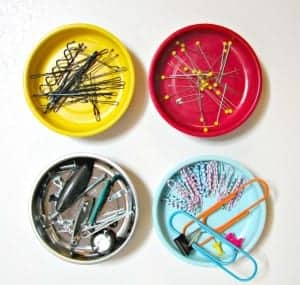 organize with magnet bowls