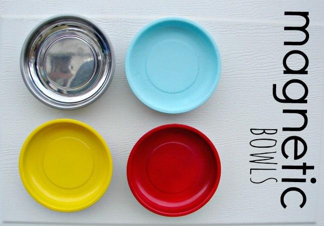 magnetic bowls