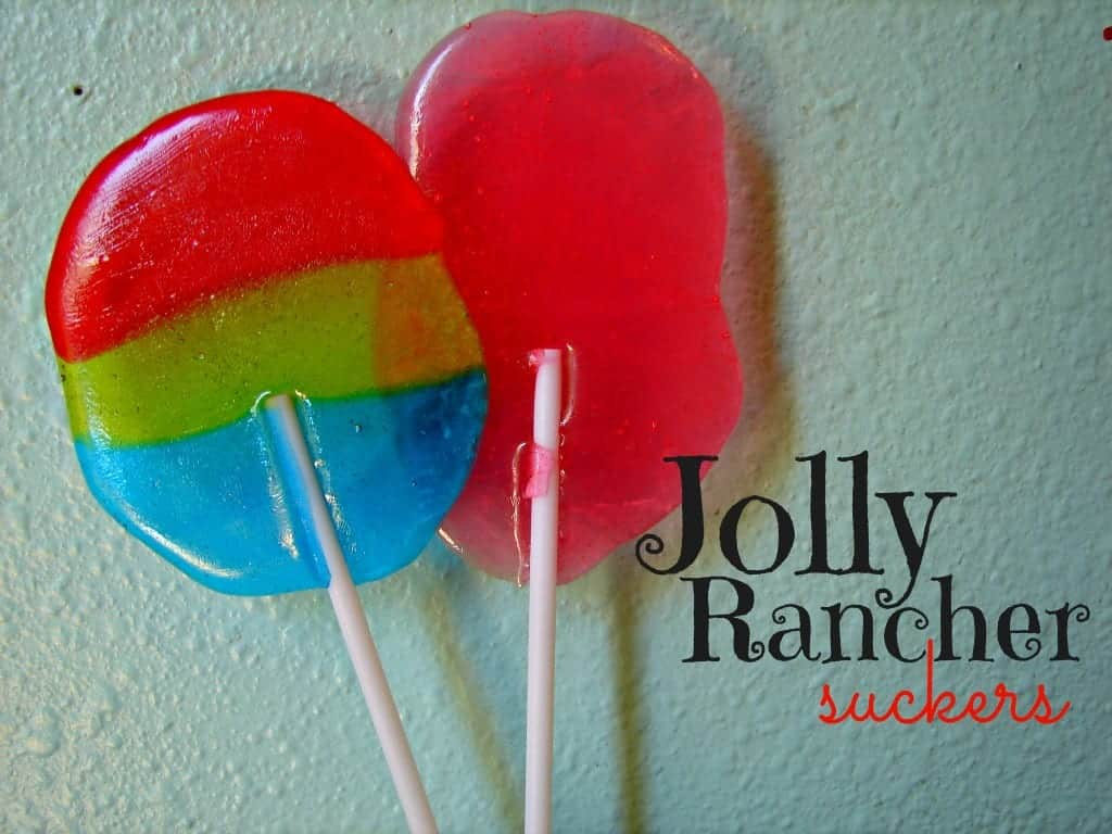 jolly rancher suckers