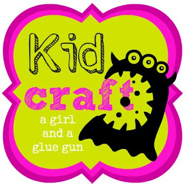 kid craft button