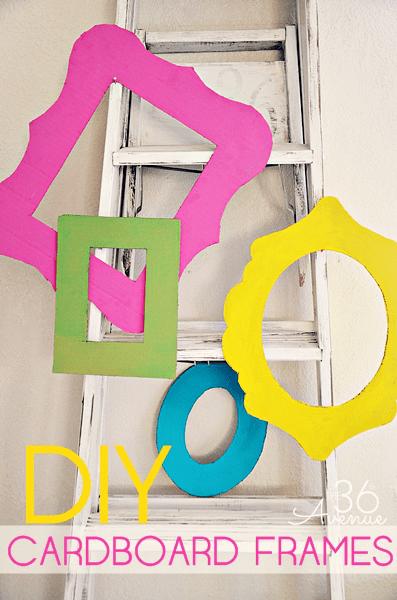 DIY-Cardboard-Frames