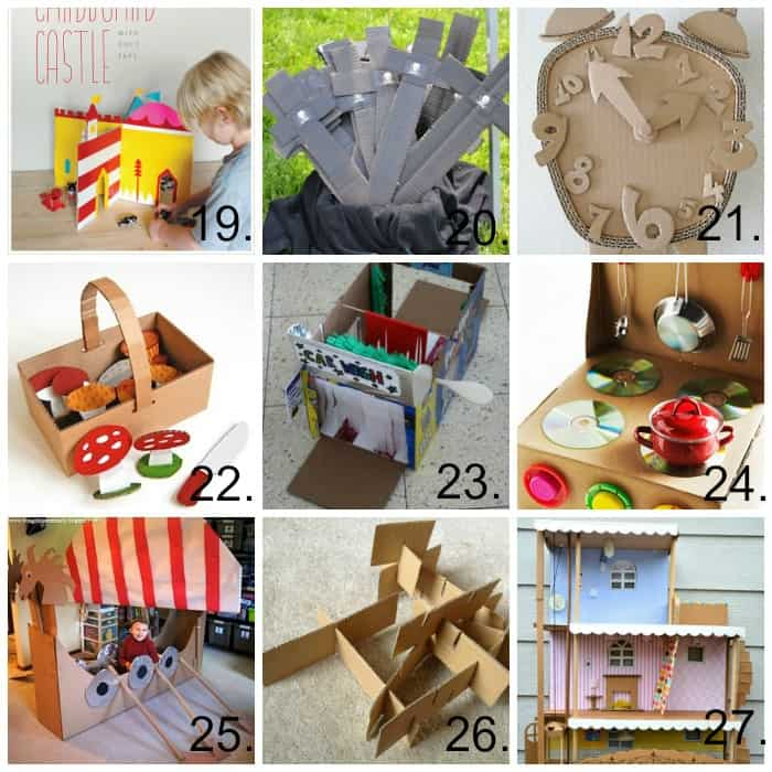 PicMonkey Collage cardboard diy ideas 3