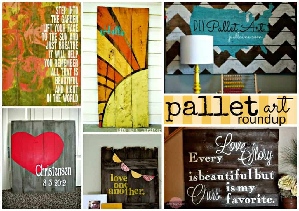 PicMonkey Collage pallet art