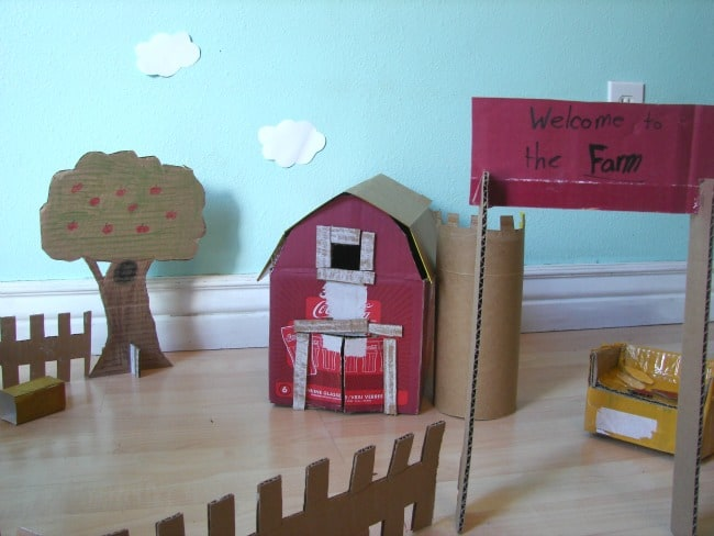 cardboard farm 2