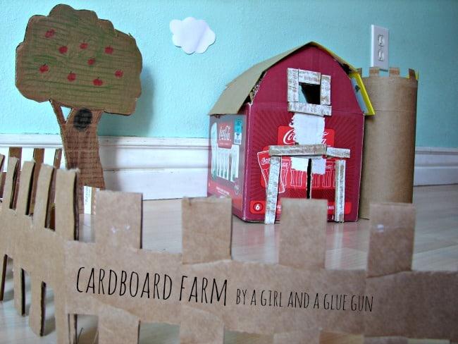cardboard farm